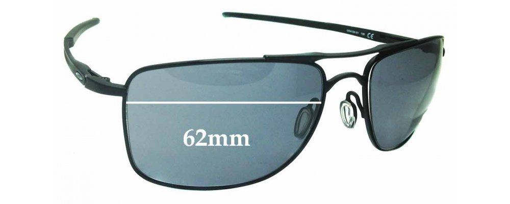 Oakley Gauge 8 >> Sunglass Fix Replacement Lenses For Oakley Gauge 8 Oo4124 62mm Wide X 45 5mm High