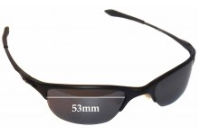 Oakley Half Wire Original Replacement Sunglass Lenses - 53mm Wide