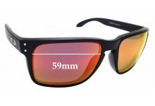 9f96e596dc Sunglass Fix Replacement Lenses for Oakley Holbrook XL OO9417 - 59mm Wide