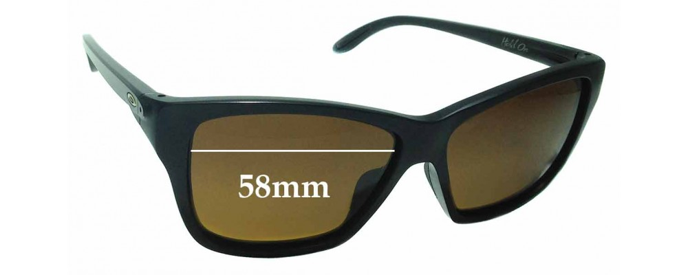 Oakley Hold On OO9298 Replacement Sunglass Lenses - 58mm wide