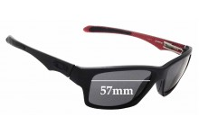 Sunglass Fix Replacement Lenses for Oakley Jupiter Factory Lite - 57mm wide