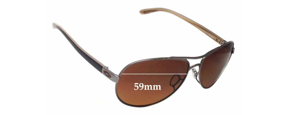 6e1b6087c03 Oakley OO4079 Feedback Replacement Sunglass Lenses - 59mm wide