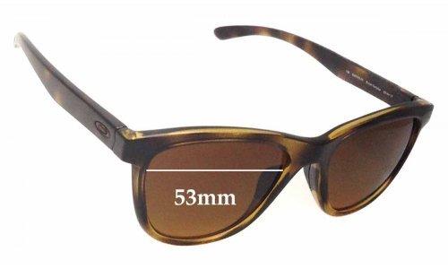 Oakley OO9320 Moonlighter Replacement Sunglass Lenses - 53mm wide