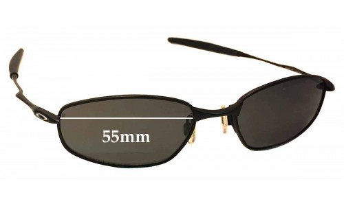 Sunglass Fix Replacement Lenses for Oakley OX3107 Whisker - 55mm wide