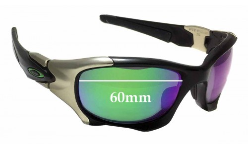 Oakley Pitboss II OO9215 Replacement Sunglass Lenses - 60mm wide