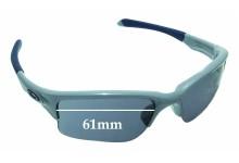 Oakley Quarter Jacket OO9200 Replacement Sunglass Lenses 61mm wide
