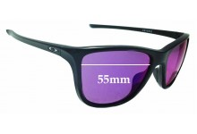 Sunglass Fix Replacement Lenses for Oakley Reverie OO9362 - 55mm Wide