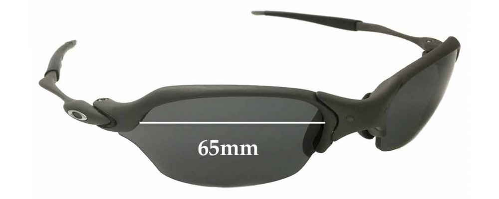 Sunglass Fix Replacement Lenses for Oakley X Metal Romeo 2.0 65mm wide