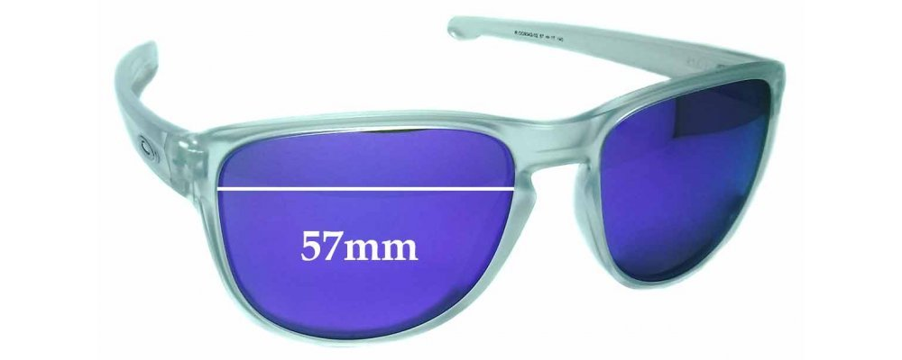 aa4457cdde5 Oakley Sliver OO9342 Replacement Sunglass Lenses - 57mm wide