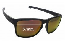 Oakley Sliver XL Replacement Sunglass Lenses - 57mm wide x 46mm high