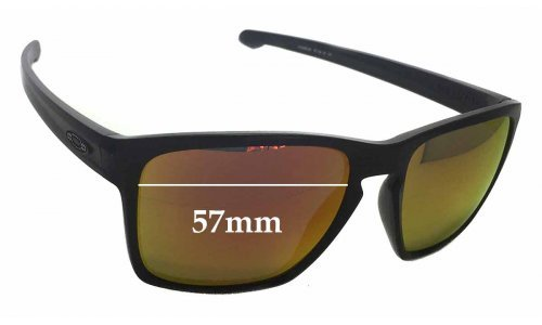 Oakley Sliver XL Replacement Sunglass Lenses - 57mm wide x 46mm high