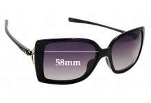 Sunglass Fix Replacement Lenses for Oakley Splash OO9258 - 58mm wide