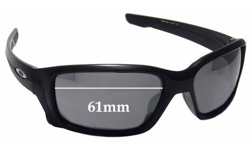 Oakley Straightlink OO9331 Replacement Sunglass Lenses - 61mm wide