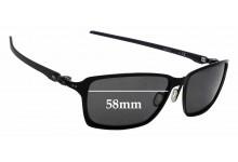 3302b4883a Sunglass Fix Replacement Lenses for Oakley Tincan Carbon OO6017 - 58mm wide