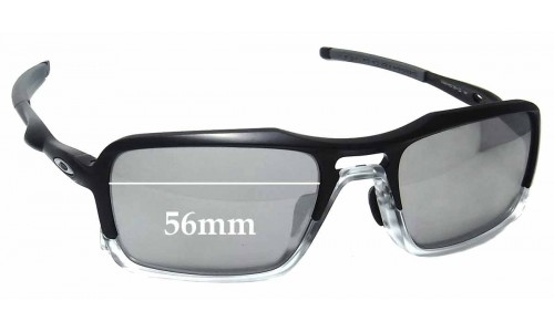 Oakley Triggerman OO9314 Replacement Sunglass Lenses - 56mm wide