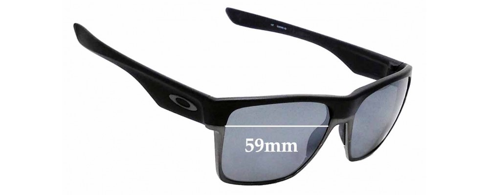 6cec3cba72 Sunglass Fix Replacement Lenses for Oakley Two Face XL OO9350- 59mm Wide