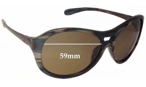 Oakley Vacancy OO2014 Replacement Sunglass Lenses - 59mm wide