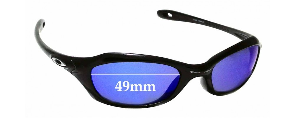 Sunglass Fix Replacement Lenses for Oakley XS Fives 49mm Wide