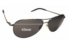 Oliver Peoples Benedict OV 1002S Replacement Sunglass Lenses - 62mm wide