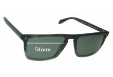 Oliver Peoples Bernado OV5189-S Replacement Sunglass Lenses - 54mm wide