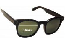Oliver Peoples Byredo OV5310SU Replacement Sunglass Lenses - 50mm wide