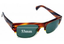 Sunglass Fix Replacement Lenses for Oliver Peoples Evason OV5243-S - 53mm wide