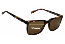 Sunglass Fix Replacement Lenses for Oliver Peoples OV5031S - 50mm wide