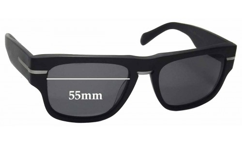 Sunglass Fix Replacement Lenses for Oliver Peoples Public School OV5311SU - 55mm wide