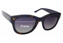 Sunglass Fix New Replacement Lenses for Oroton Alaina - 51mm Wide