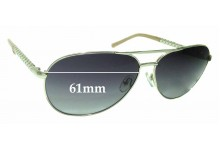 Sunglass Fix New Replacement Lenses for Oroton Clemence - 61mm Wide