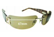 Sunglass Fix Replacement Lenses for Oroton Cruz - 67mm wide