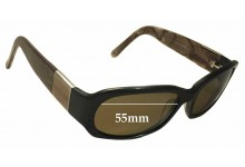 Sunglass Fix New Replacement Lenses for Oroton Delight - 55mm Wide