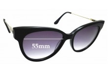 Sunglass Fix New Replacement Lenses for Oroton Forte - 55mm Wide