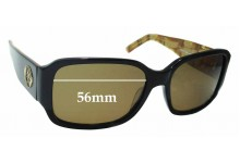 Sunglass Fix New Replacement Lenses for Oroton Huatulco - 56mm Wide