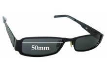 Sunglass Fix Replacement Lenses for Osiris 638 - 50mm wide