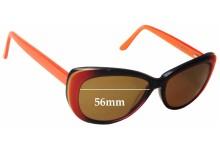 Osiris Sun Rx 28 Replacement Sunglass Lenses - 56mm wide