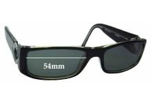 Osiris Sun 6 Replacement Sunglass Lenses - 54mm wide