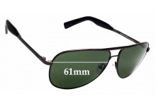 Sunglass Fix Replacement Lenses for Otis Double Lucky - 61mm wide