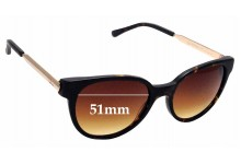 Sunglass Fix Replacement Lenses for Otis Midnight City - 51mm wide