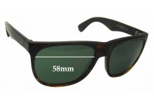 Otis Nevermind Replacement Sunglass Lenses - 58mm wide