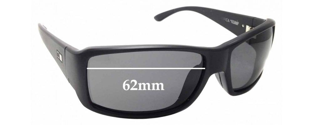 c1260c26a528 Otis PacificaReplacement Lenses 62mm Wide by The Sunglass Fix™