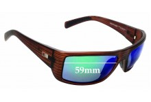 Sunglass Fix Replacement Lenses for Otis Portside - 59mm Wide