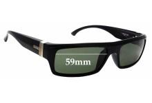 Sunglass Fix Replacement Lenses for Otis Prague - 59mm wide