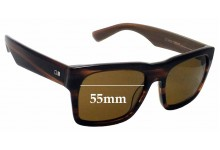 Sunglass Fix Replacement Lenses for Otis Stones Throw 55mm wide
