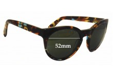 Oscar Wylee Brooke Replacement Sunglass Lenses - 52mm wide