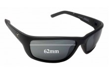 Panoptx Ventus F1301 Replacement Sunglass Lenses - 62mm Wide