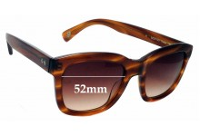 Sunglass Fix New Replacement Lenses for Paul Smith Farren - 52mm Wide
