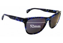 Sunglass Fix New Replacement Lenses for Paul Smith Hoban - 55mm Wide