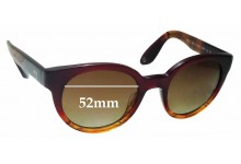 Sunglass Fix New Replacement Lenses for Paul Smith Palmer PM8228-S-U - 52mm Wide