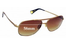 Sunglass Fix New Replacement Lenses for Paul Smith PM4029-S - 58mm Wide